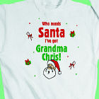 Who Needs Santa Personalized Youth Sweatshirt