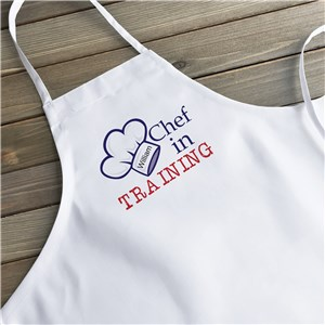 Personalized Chef in Training Youth Apron | Personalized Aprons