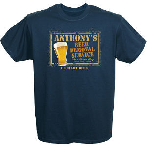 Personalized Beer T-shirt