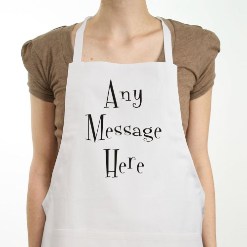 Custom Message Personalized Apron | Personalized Aprons