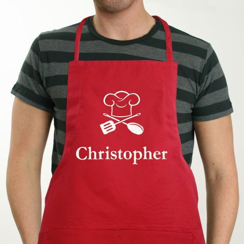 Embroidered Chef Apron | BBQ Gifts