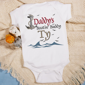 Boatin' Buddy Infant Creeper
