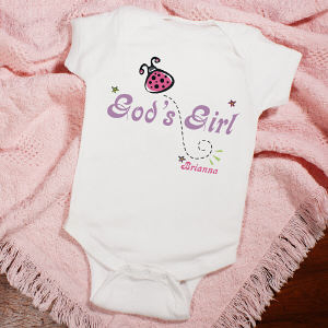 God's Girl Personalized Infant Creeper