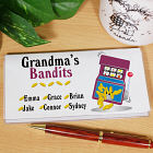 Gambling Bandits Personalized Checkbook Cover