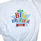 Big Brother Star Personalized Youth Sweatshirt