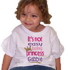 Not Easy Being A Princess Youth T-Shirt