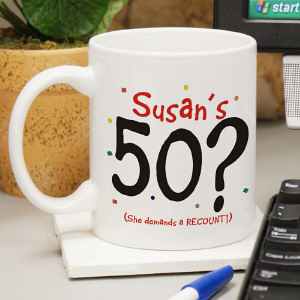 Demands A Recount Coffee Mug