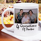 Generations Personalized Photo Coffee Mug