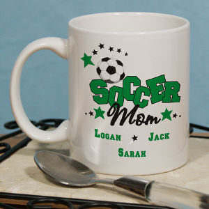 Soccer Ceramic Coffee Mug