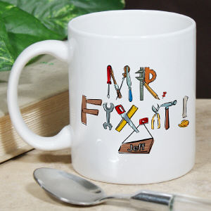 Personalized Mr. Fix-It Mug
