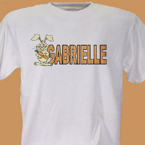 Carrot Name Personalized T-shirt