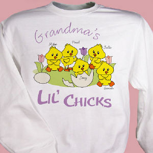 Lil' Chicks Personalized Sweatshirt