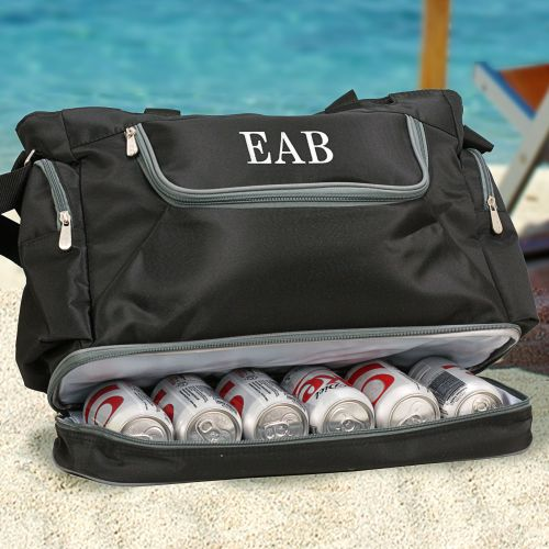 Embroidered Beach Cooler Tote E7654117