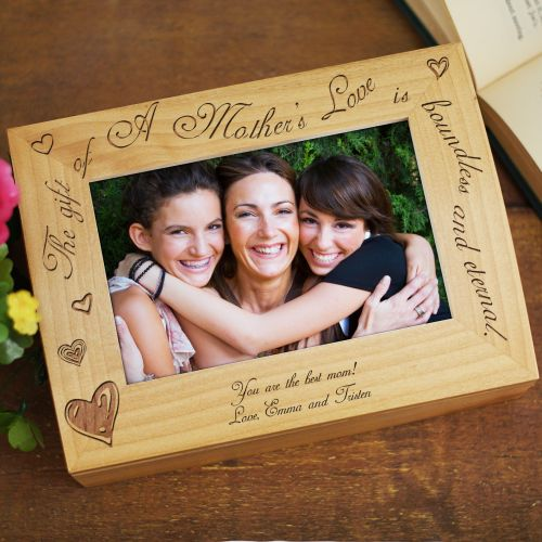 Personalized Mothers Day Keepsake Box | Mom Photo Frames
