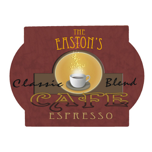 Cafe Espresso Personalized Wall Sign 627995