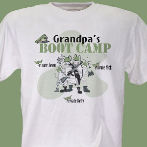 Boot Camp Personalized T-Shirt