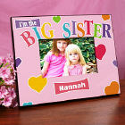 Big Sister Heart Personalized Printed Frame
