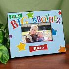 Big Brother Star Personalized Printed Frame