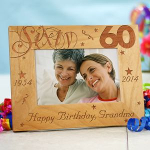 60th Birthday Picture Frame