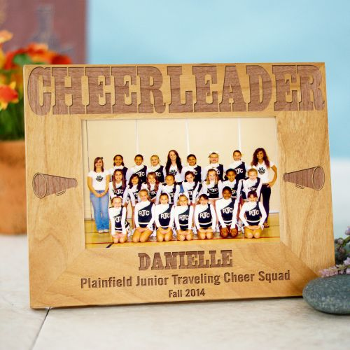 Cheerleading Wood Picture Frame