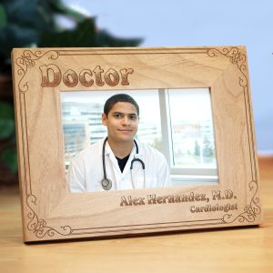 Personalized Doctor Wood Picture Frame