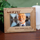 Personalized Lawyer Wood Picture Frame