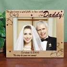 Personalized Is Her Daddy Picture Frame