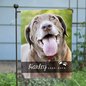 Pet Photo Memorial Garden Flag 83093532X
