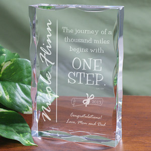 The Journey... Graduation Keepsake Block