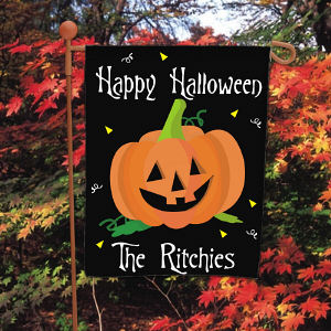 Happy Halloween Garden Flag