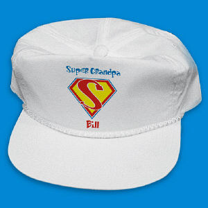 Super Dad Personalized Hat