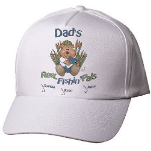 Reel Fishin Pals Personalized Hat