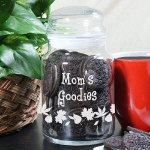 Grandma's Goodies Personalized Treat Jar