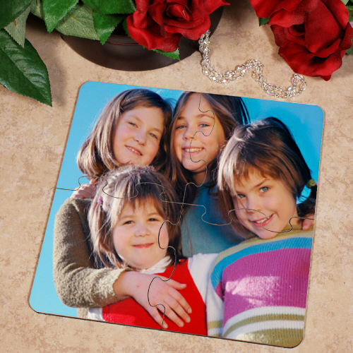 Picture Perfect Personalized Photo Coaster Puzzle