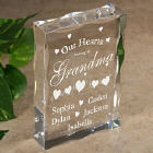 Our Hearts Personalized Keepsake Block