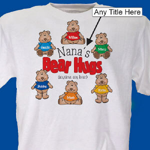 Bear Hugs Personalized T-Shirt