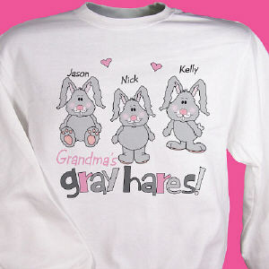 My Gray Hares Personalized Sweatshirt