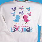 Love Birds Personalized Sweatshirt