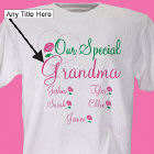 Personalized Mother's Day T-shirt Our Special Mom