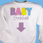 Baby Maternity Personalized Sweatshirt