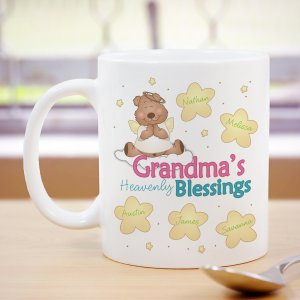 Heavenly Blessings Personalized Coffee Mug | Customizable Coffee Mugs