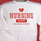 Nursing TLC Personalized Nurse Sweatshirt