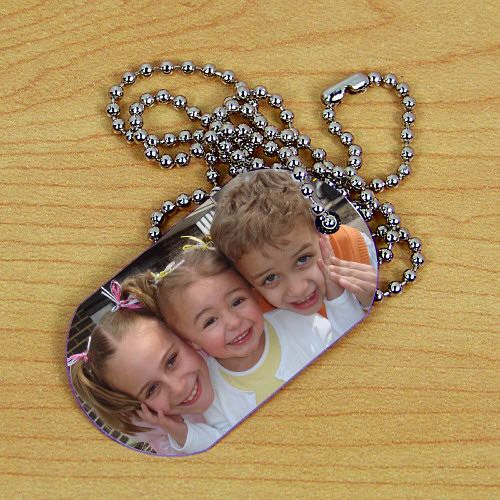 Picture Perfect Photo Dog Tag 314731