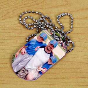 Picture Perfect Photo Dog Tag