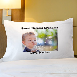 Picture Perfect Personalized Pillowcase
