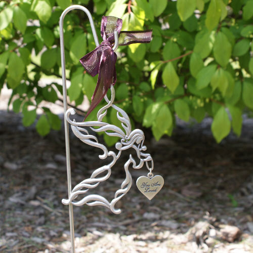 Personalized Memorial Angel Garden Stake Sympathy Gift | Memorial Gifts