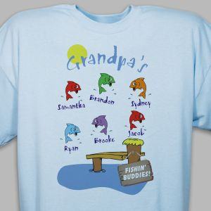Fishin' Buddies Personalized T-Shirt