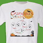 Boos & Ghouls Personalized Halloween T-shirt