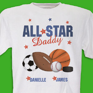 Custom Printed All Star T-shirt