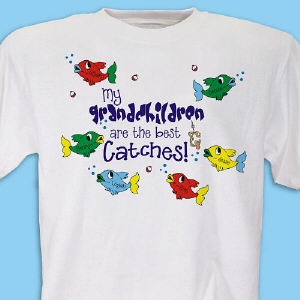 Personalized Best Catches T-shirt